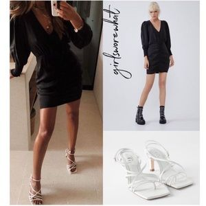 Zara Short Shirt Dress Bloggers Favorite